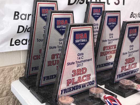 14U State Trophies