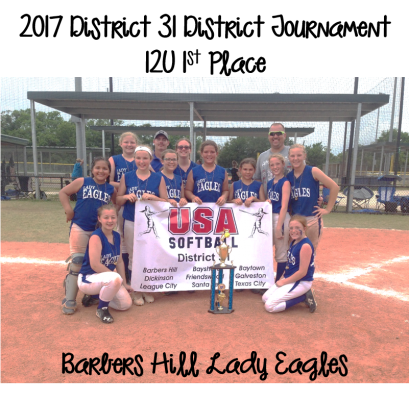 2017 12U Champions - Barbers Hill Lady Eagles