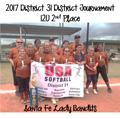 2017 12U Runner-Up - Santa Fe Lady Bandits
