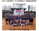 2017 6U Champions - League City Legacy
