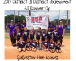 2017 6U Runner-Up - Galveston Her-icanes