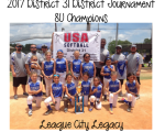 2017 8U Champions - League City Legacy